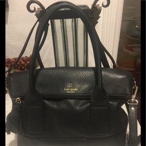 Kate Spade New York Black Leather Purse